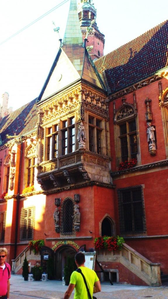 Polen Stadtführung rathaus Breslau